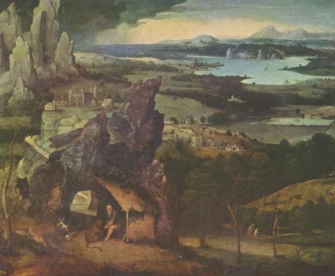 Пейзаж со св. Иеронимом