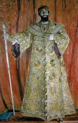 Portrait of Fyodor Chaliapin as Boris Godunov