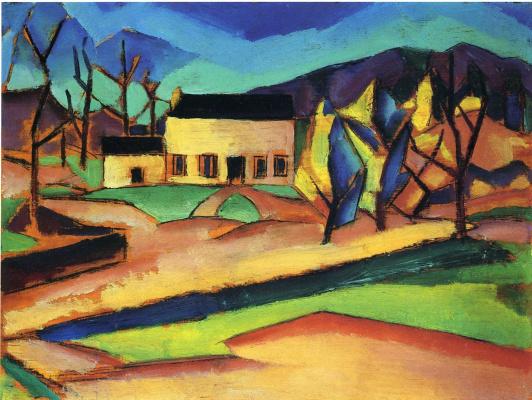 Charles Schiller. Landscape