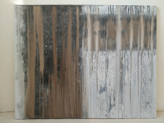 Gulzhanat Temirkhan. Abstraction 9