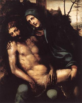 Giovanni Antonio Bazzi (Sodom). Pieta