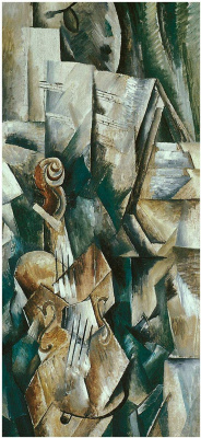 Georges Braque. Violin and palette