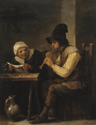 David Teniers the Younger. Duet