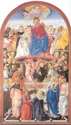 Франческо ди Джорджио Мартини. Коронация Девы