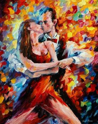 Leonid Afremov. Classic tango
