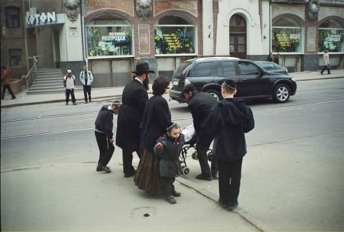 "Алексей Гришанков (Alegri). ""On the way home from the synagogue"""