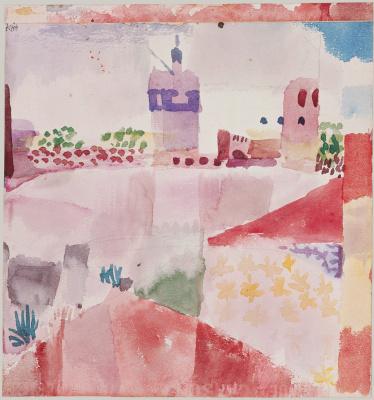 Paul Klee. Mosque