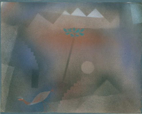 Paul Klee. Stray bird