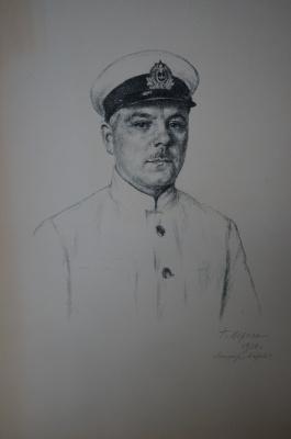 Georgiy Semenovich Vereisky. Portrait of K. Voroshilov