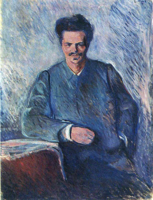 Edward Munch. August Strindberg