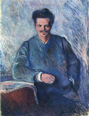 Edvard Munch. August Strindberg