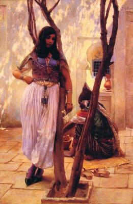Фердинанд Макс Бредт. Тунис