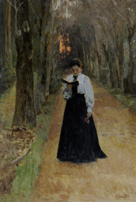 Mikhail Vasilyevich Nesterov. At dawn