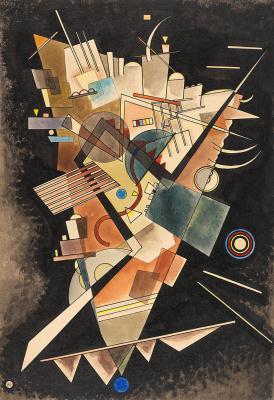 Wassily Kandinsky. Heavy Floating