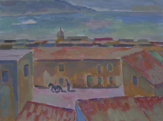 Борис Карафелов. Городок Неаполитанский залив