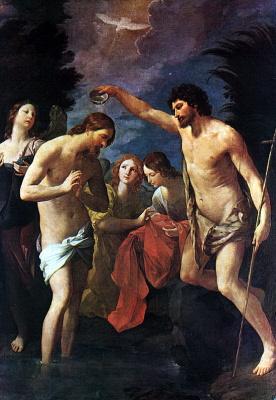 Гвидо Рени. Крещение Спасителя