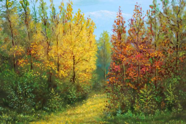 Наджаф Мамедов. Осень