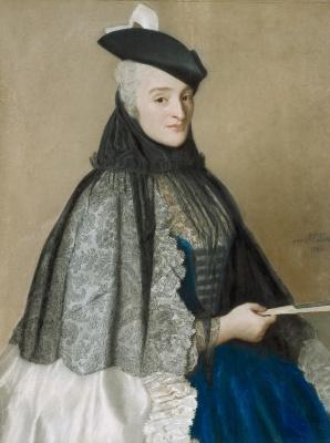 Jean-Etienne Lyotard. Portrait of Madame Bor