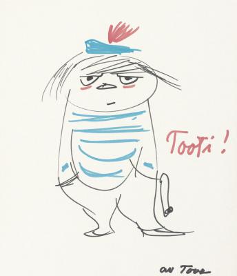 Tove Jansson. Tuu Tikki, Invisible Child