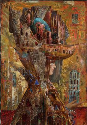 Sergey Nikolayevich Lukyanov. Carnival architecture. Morning