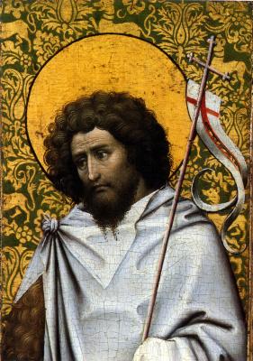 Робер Кампен. Святой Иоанн Креститель