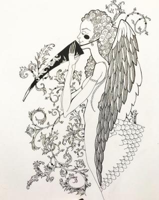 Dina zakman. Angel