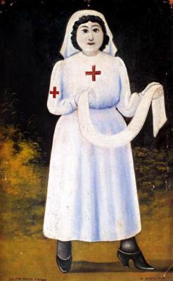 Нико Пиросмани (Пиросманашвили). Сестра милосердия