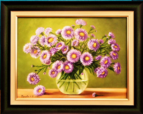 Natalia Viktorovna Tyuneva. Bouquet