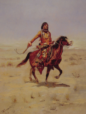 Charles Marion Russell. Indiana raider
