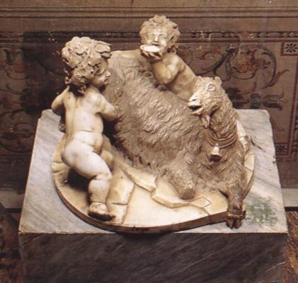Джованни Лоренцо Бернини. Коза с младенцами