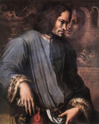 Джорджо Вазари. Портрет Лоренцо Медичи Великолепного