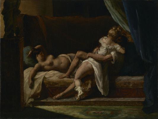 Théodore Géricault. Three lovers