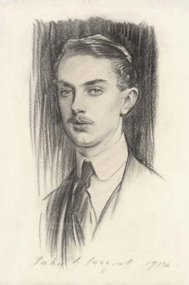 John Singer Sargent. Portrait of the right honourable Harcourt Johnstone