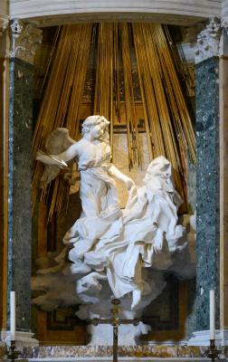 Gian Lorenzo Bernini. The Ecstasy Of Saint Theresa