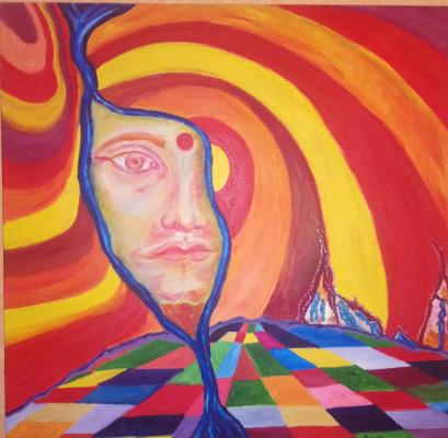 Pavel Puzyr. Meditation in the sixth chakra