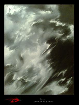 Domian Dybo. Storm