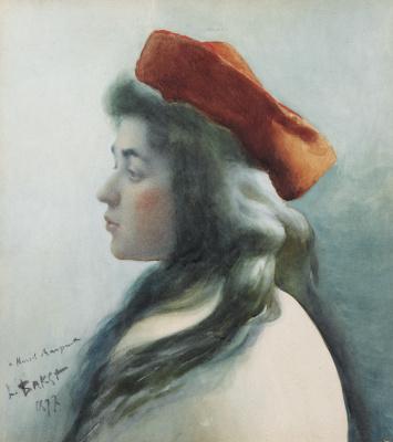 Lev (Leon) Bakst. Portrait of a girl
