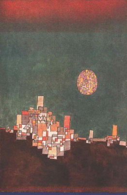 Paul Klee. The city