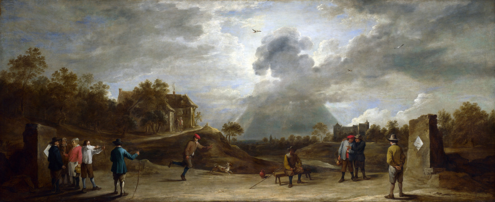 David Teniers the Younger. Peasants archery