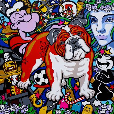 "Oxana Prantl. ""Red Bulldog"""