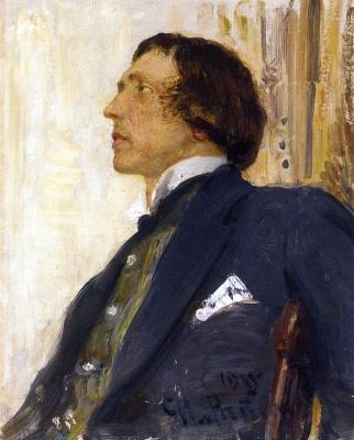 Ilya Efimovich Repin. Portrait of Nikolai Evreinov