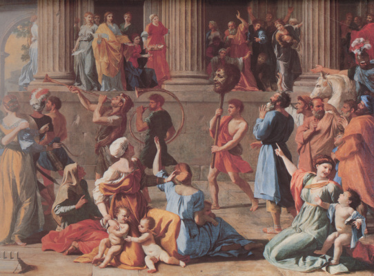 Nicola Poussin. The Triumph Of David