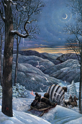 Ричард Хесс. Ночь в лесу