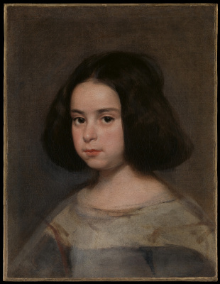 Diego Velazquez. Portrait of a girl