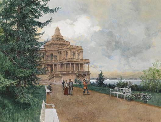 Franz Copallicus Austria 1860 - 1931. Oranienbaum.