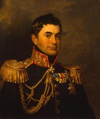 George Dow. Portrait of Peter Mikhailovich Volkonsky