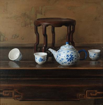Ван Вейдонг. Три чашки