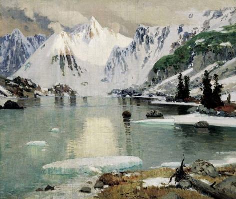 Григорий Иванович Гуркин. Озеро горных духов