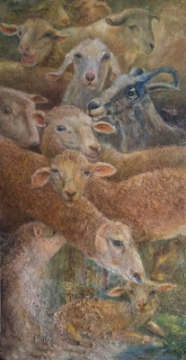 Silva Iosifovna Zalmanson. Sheep and goats