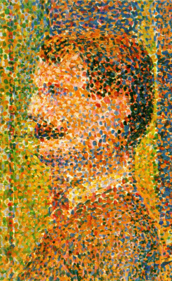Georges Seurat. Parade in the circus, a fragment of